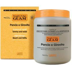 GUAM - Маска из водорослей против жировых отложений на животе и талии, 1 кг